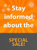 Special Satle starts Sunday August 8th!