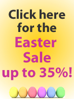 Easter Sale up to 35% discount!