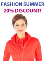 Jackets, Sweats & Vests 20% Discount!