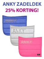 Anky Zadeldekjes 25% Korting!