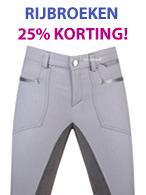 Vele Dames Rijbroeken nu 25% Korting!