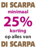 Di Scarpa minimaal 25% korting!