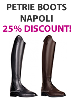 Petrie Riding Boots Napoli 25% discount!