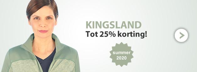 Kingsland Summer tot 25%!