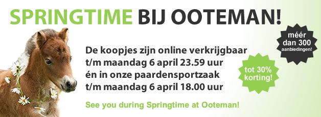 Springtime bij Ooteman!
