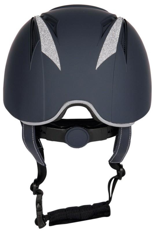 Harry S Horse Riding Helmet Challenge Sparkle Navy