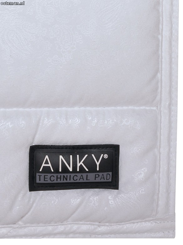 Limited Anky Saddle Pad Paisley White Ooteman Equestrian