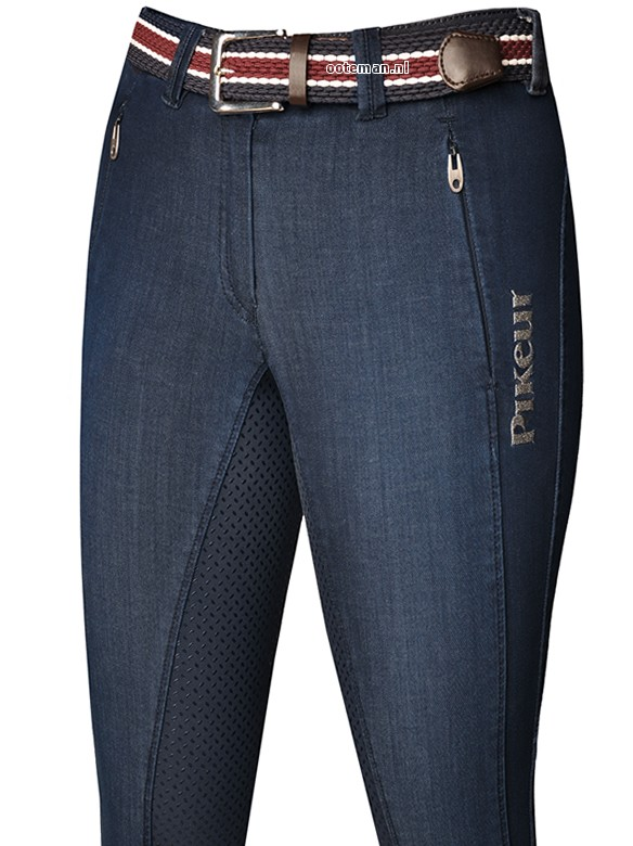 Pikeur Riding Breeches Janelle Jeans Full Grip Denim