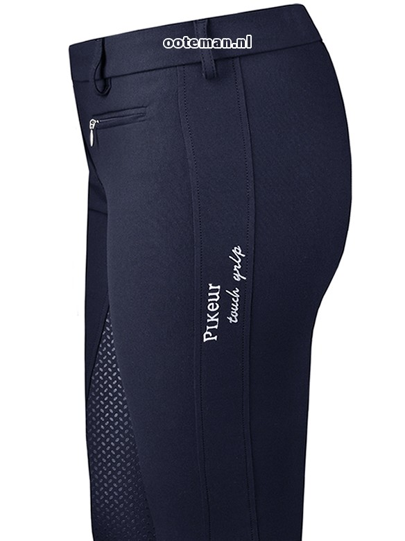 pikeur riding breeches lucinda grip nightblue ooteman. Black Bedroom Furniture Sets. Home Design Ideas