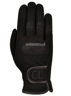Comfort Line Riding Gloves Domy Black