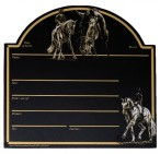 Stable Plate Dressage