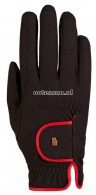 Roeckl Riding Gloves Lona Grip Black/Red