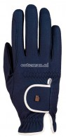 Roeckl Riding Gloves Lona Grip Navy/White