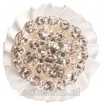 ShowQuest Stock Pin Rosette White