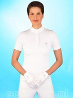 Kingsland Dressage Competition Shirt White