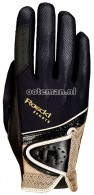 Roeckl Riding Gloves Madrid Black/Gold
