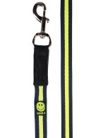 Smile Lunging Line Navy/Lime