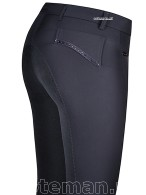 Kentucky Riding Breeches Kenso City Strass Navy