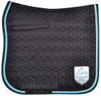 BR Saddle Pad Passion Silvia Black