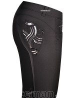 Animo Riding Breeches Nargot Nero