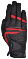 Anky Rijhandschoen ATA023 Black/Red