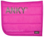 Anky Saddle Pad Magenta Winter 2016