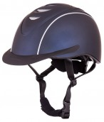 BR Riding Helmet Viper Patron Metallic Navy