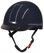 Harry's Horse Riding Helmet Eclipse Crystal Navy