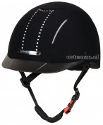 Harry's Horse Riding Helmet Eclipse Crystal Black