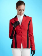 Kingsland Master Competition Jacket Sila Red Tango