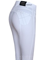 Eurostar Riding Breeches Easy Rider Zohra Diamond Full Grip White