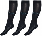 Stapp Horse Show Socks Navy