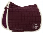 Eskadron Saddle Pad Cotton Crystal Blackberry