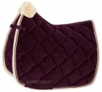 Eskadron Saddle Pad Velvet Crystal Blackberry