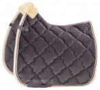 Eskadron Saddle Pad Velvet Crystal Violet Grey