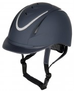 Harry's Horse Riding Helmet Challenge Sparkle Navy