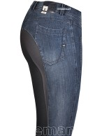 Eurostar Rijbroek Charline Jeans Full Grip Navy