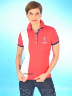 Kingsland Polo Waverly Red Hibiscus