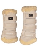 Kingsland Dressage Leg Protection Set Beige Oatmeal