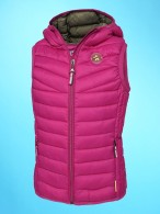 Pikeur Waistcoat Fea Pink/Oliv