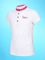 Pikeur Competition Shirt Leni Girl White