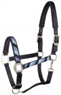 Harry's Horse Headcollar Set Ribbon Blueberry