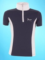 BR 4-Ever Horses Competition Shirt Mio Navy