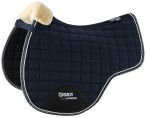 Eskadron Saddle Pad Faux Fur + Rub Deepblue