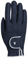 Roeckl Riding Gloves Lona Grip Navy/Silver