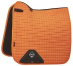 LeMieux Saddle Pad Square Dressage Tangerine