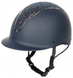Harry's Horse Riding Helmet Centaur Navy/Silver