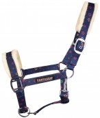 Vantaggio Headcollar Stars Dark Navy Denim
