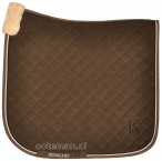 Kingsland Saddle Pad Camden Brown Dessert