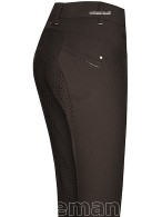 BR Riding Breeches Hanna Full Grip Espresso